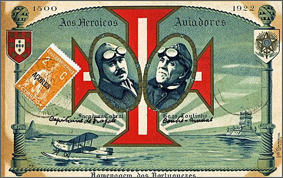 Há 93 anos iniciou-se a primeira travessia aérea do Atlântico Sul