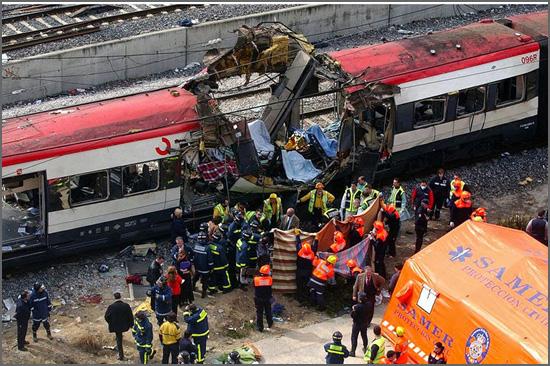 Há 11 anos houve atentados terroristas nos comboios de Madrid - Espanha