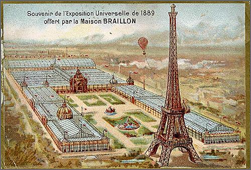Inauguração da Torre Eiffel