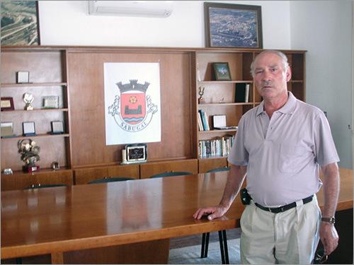 Manuel Rasteiro - Presidente da Junta de Freguesia do Sabugal - capeiaarraiana.pt