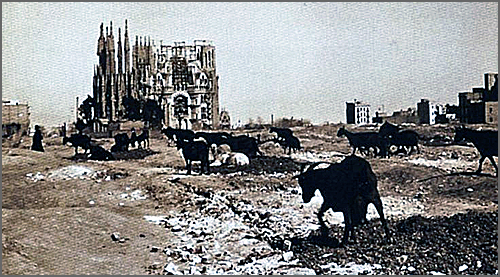 O estado da construção em 1915