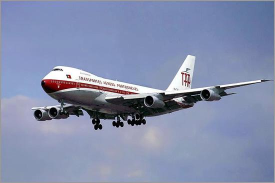 Boeing 747 Jumbo da TAP - Capeia Arraiana
