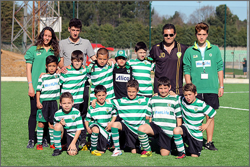 Equipa da Academia do Sporting