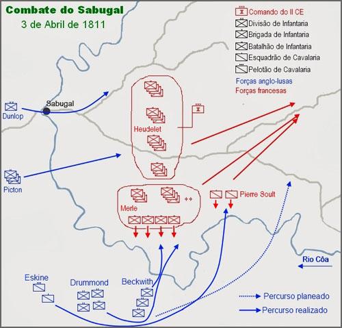 A batalha do Sabugal aconteceu há 204 anos