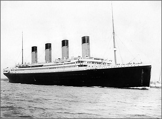 O RMS Titanic afundou no Atlântico há 103 anos