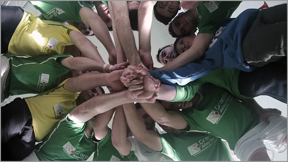 A equipa de Futsal do Sporting Clube Sabugal foi campeã distrital