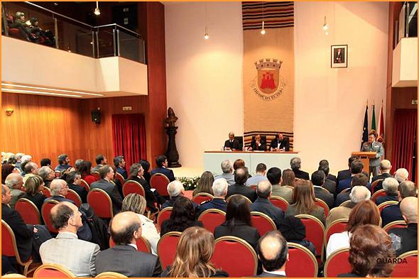 815 aniversário da cidade da Guarda - General Pina Monteiro e Jorge Barreto Xavier - Capeia Arraiana
