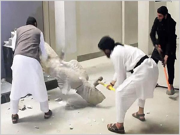 Estado Islâmico destrói estátuas milenares em Mossul