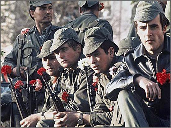 A Revolução foi há 41 anos