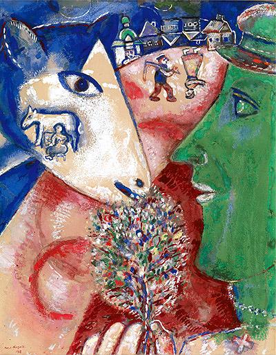 Marc Chagall - Eu e a minha aldeia