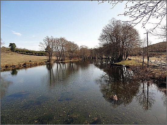 O rio Côa em Quadrazais