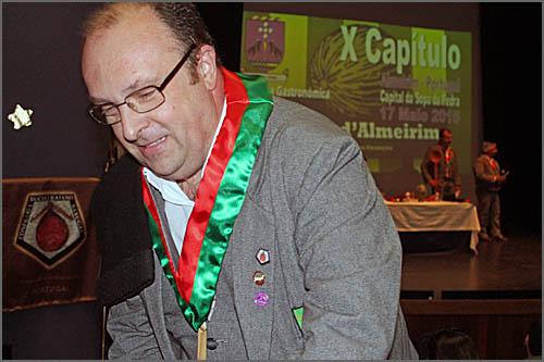 Luís Filipe Manso - um confrade de Almeirim natural de Aldeia do Bispo (Sabugal)
