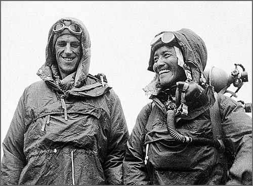 Os primeiros alpinistas a vencer o Everest