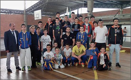 Os karatecas egitanienses
