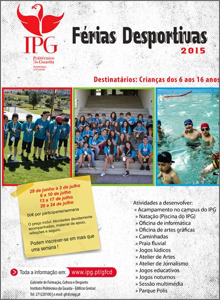 Férias para os jovens promovidas pelo IPG