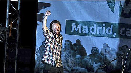 O Podemos foi um dos partidos emergentes das eleições espenholas