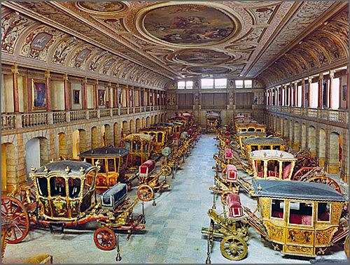 Museu dos Coches - fundado há 110 anos