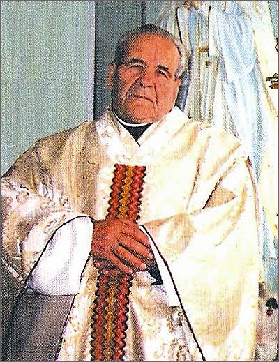 O Padre José Miguel nasceu há 103 anos