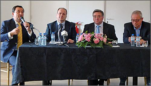 Carlos Vinhas, Deputado Carlos Gonçalves, António Robalo e Carlos de Matos