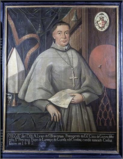 D. Álvaro de S. Boaventura tornou-se bispo da Guarda há 344 anos