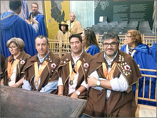 Alguns dos confrades do Bucho que foram a Bucelas