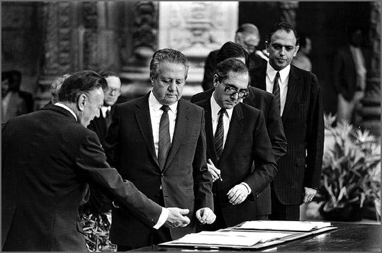 A adeseão à CEE foi assinada há 30 anos no Mosteiro dos Jerónimos