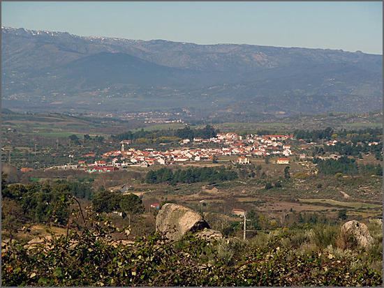 Aldeia do Casteleiro no concelho do Sabugal