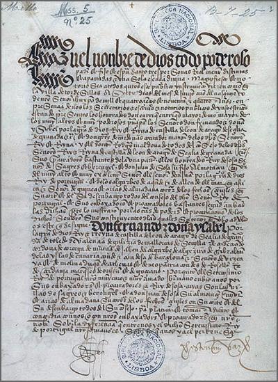 O Tratado de Tordesilhas foi assinado há 521 anos