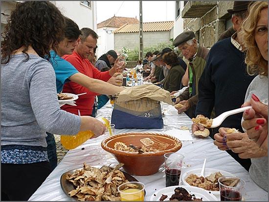 Convívio na Festa da Caça no Casteleiro