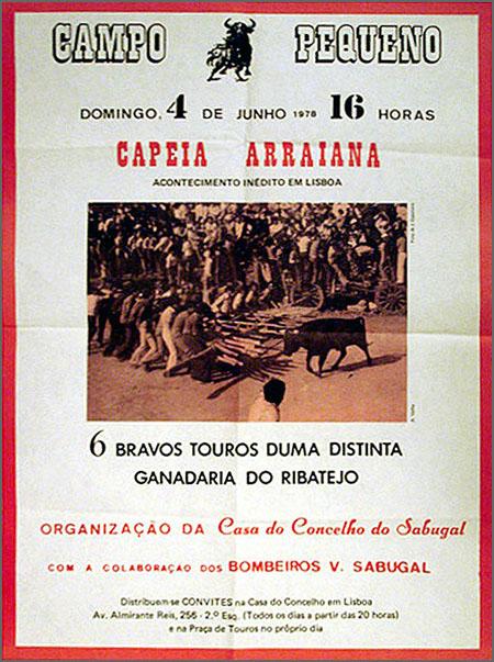 A primeira Capeia em Lisboa realizou-se há 37 anos