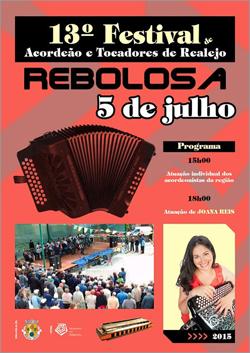 13 Festival de Acordeão e Tocadores de Realejo - Rebolosa - 2015