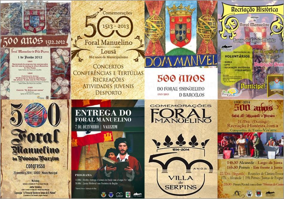 Comemorações dos 500 anos dos Forais Manuelinos - Maria Máxima Vaz - capeiaarraiana.pt