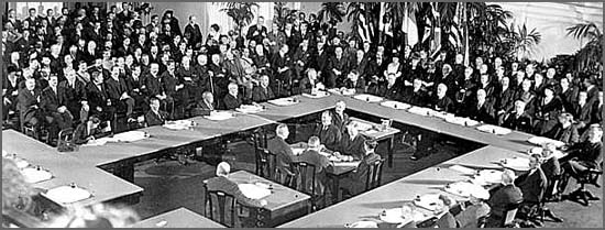 O Tratado de Versalhes foi assinado há 96 anos