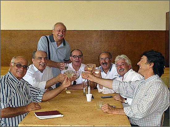 Alguns dos convivas no XXX Encontro de Antigos Alunos da Escola Apostólica de Cristo Rei