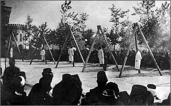 Há 100 anos soldados turcos execuaram milhares de arménios na cidade de Trebizanda