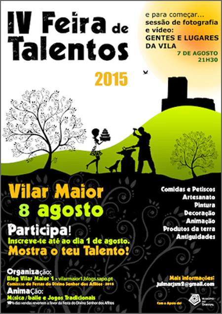 O cartaz da Feira de Talentos