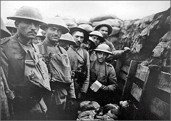 Houve casteleirenses na frente de batalha na I Guerra Mundial