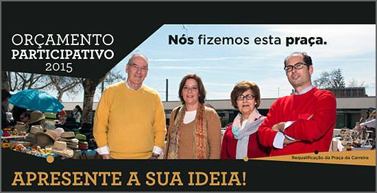 Campanha ligada ao OP do concelho de Cascais