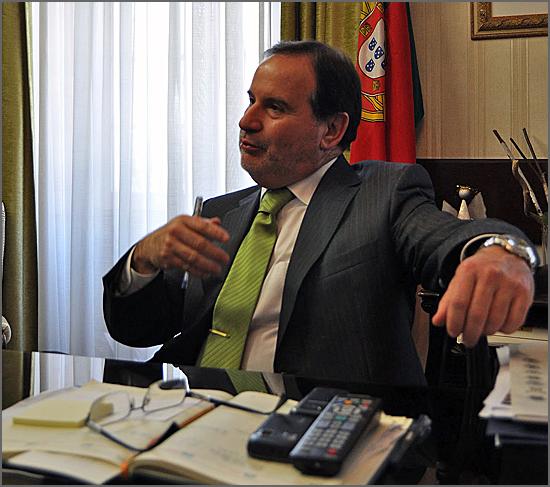 Santinho Pacheco foi o último governador civil da Guarda