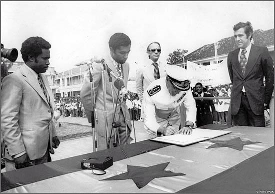 A independência de S. Tomé e Príncipe foi há 40 anos