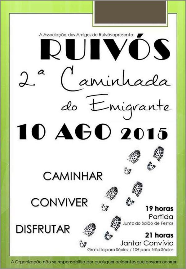 II Caminhada 2015 - AAR - Associação Amigos Ruivós - Capeia Arraiana