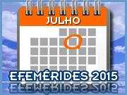 Julho - 2015 - Efemérides - Capeia Arraiana
