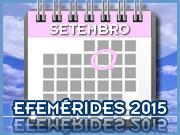 Setembro - 2015 - Efemérides - Capeia Arraiana