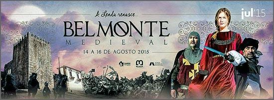 Cartaz da Feira Medieval de Belmonte