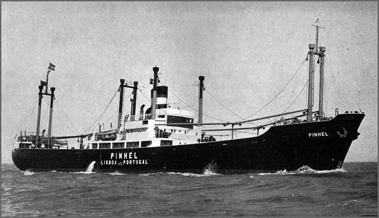 Há 53 anos o cargueiro Pinhel abalroou outro navio no Tejo