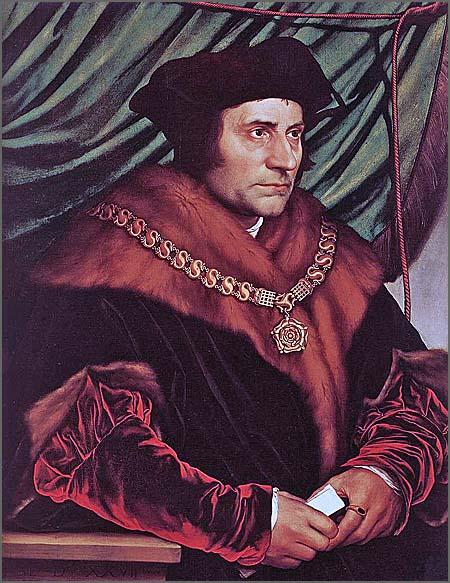 Thomas More foi executado há 480 anos