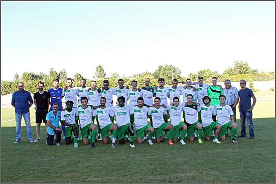 A equipa do Sporting do Sabugal