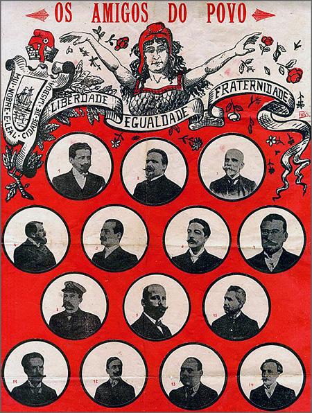 Há 105 anos foram eleitos os 15 deputados republicanos chamados «Os Amigos do Povo»
