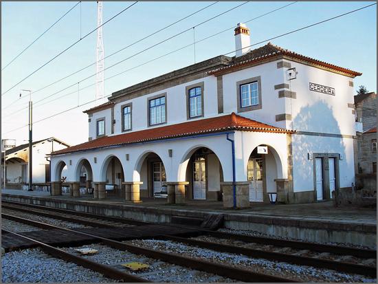 Estação da Cerdeira, na Linha da Beira Alta