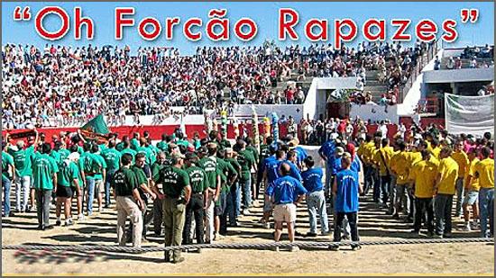 O primeiro festival do forcão, realizou-se há 29 anos em Aldeia da Ponte